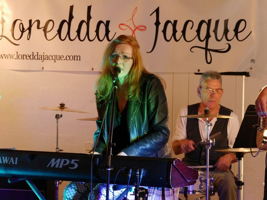 Loredda Jacque begeisterte das Publikum