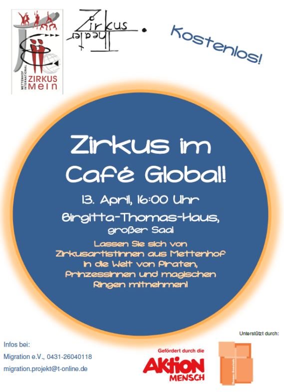 Zirkus im Café Global